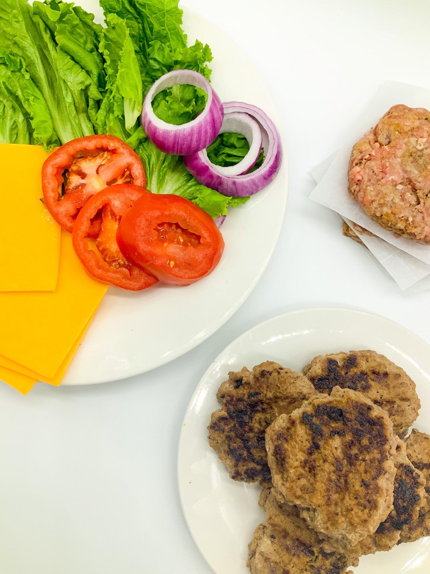 easy hamburger patties