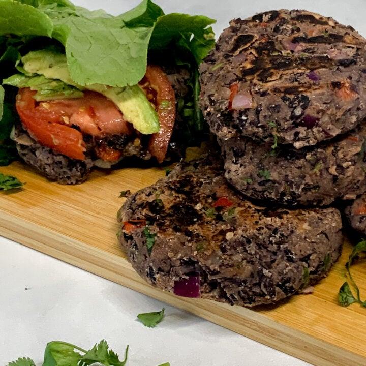 vegetarian southwest black bean burgers