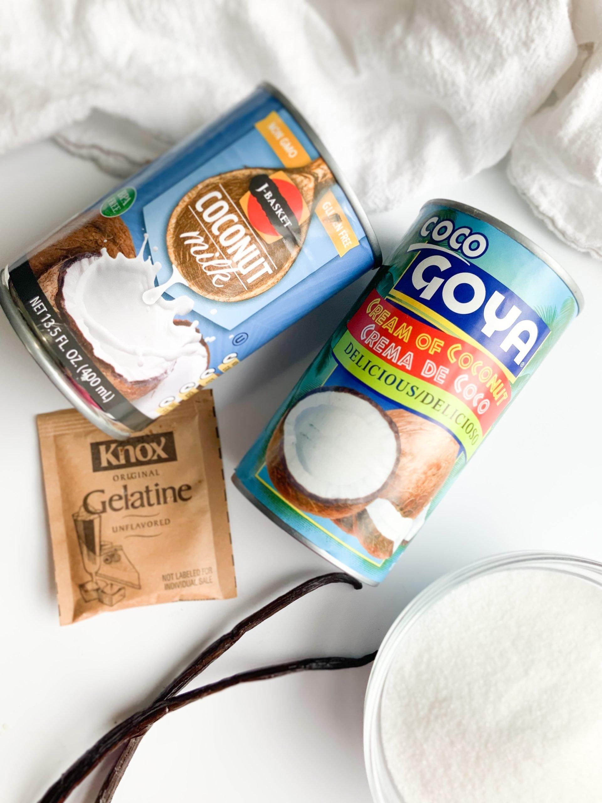 homemade dairy free ice cream ingredients