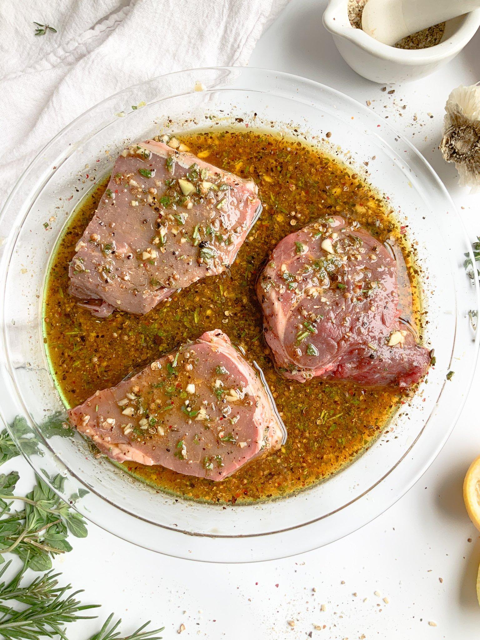 garlic herb steak marinade