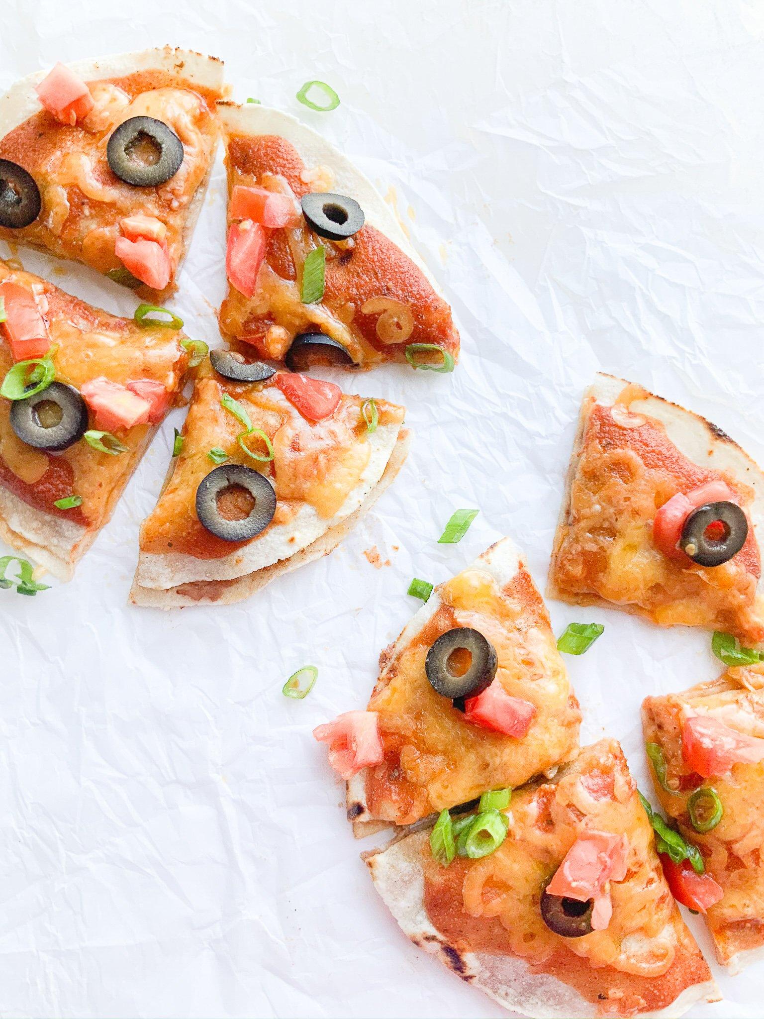 gluten-free mexican pizza