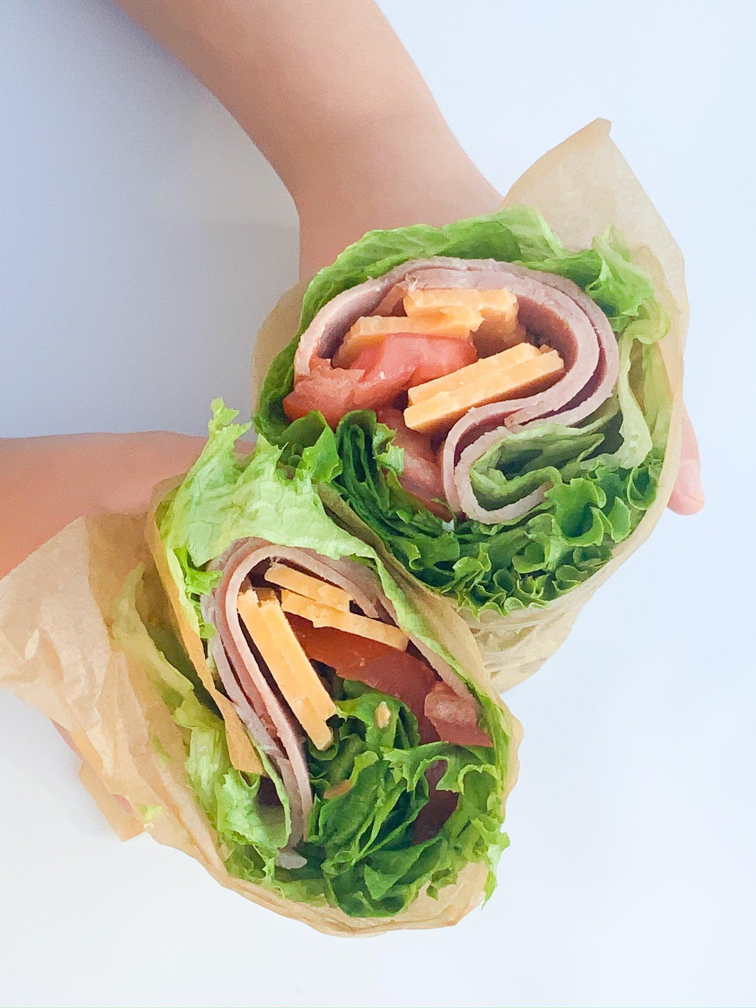 gluten free lettuce wrap