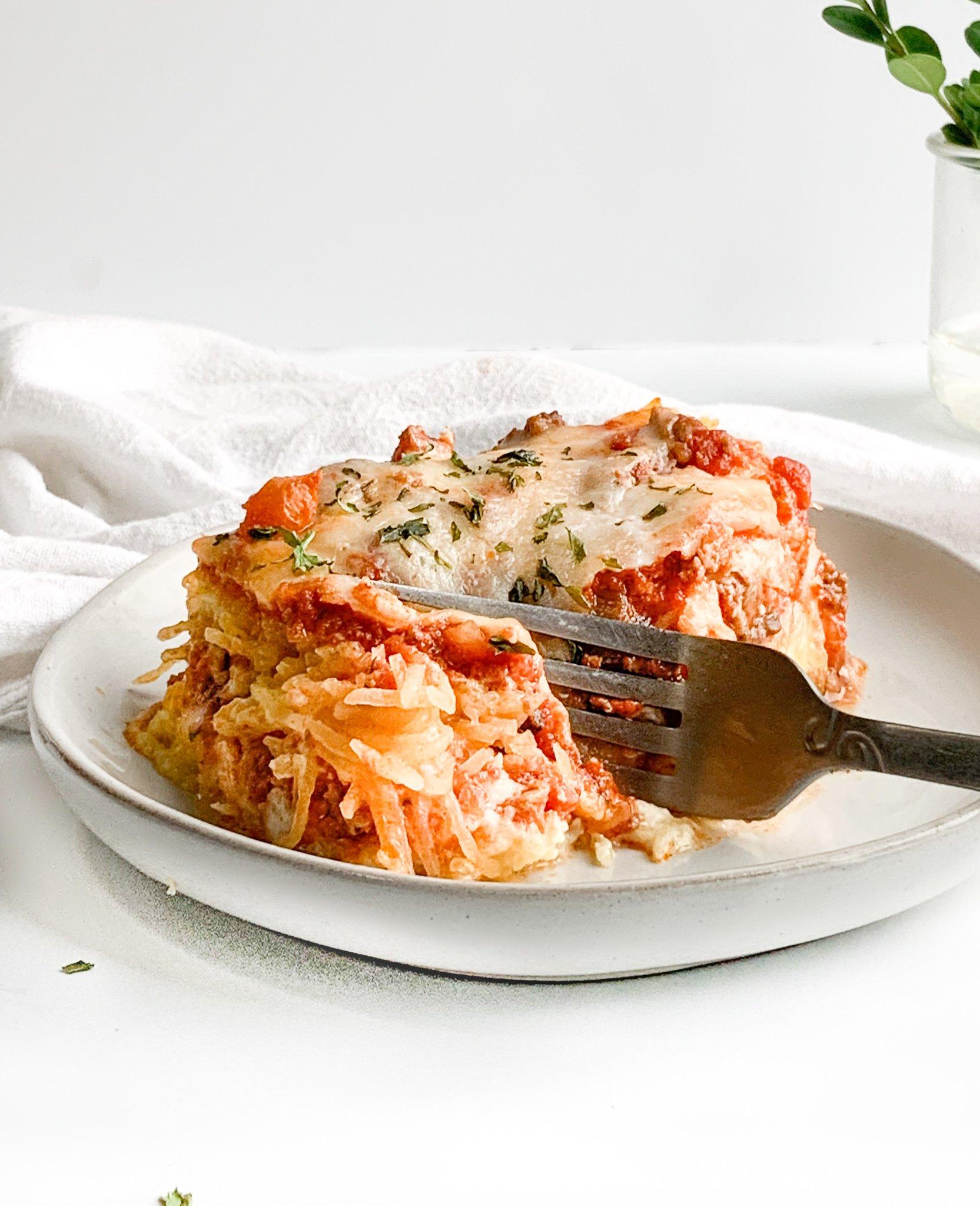 million dollar spaghetti squash bake